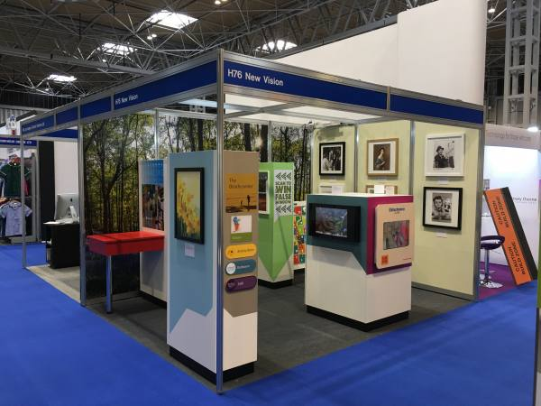 Care Show stand dementia products