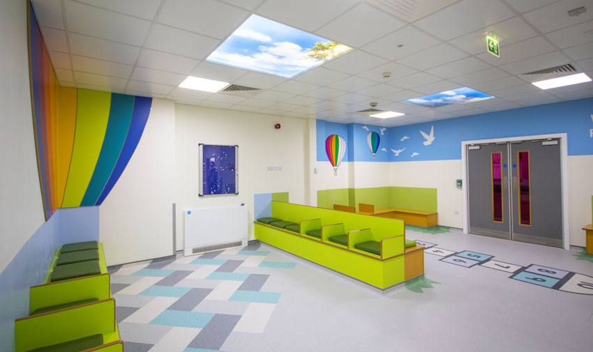 Bradford Royal Infirmary A&E and Paediatric Wards Image