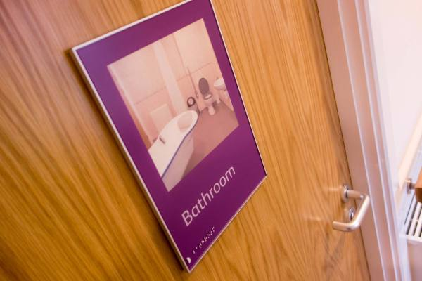 dementia friendly bathroom design