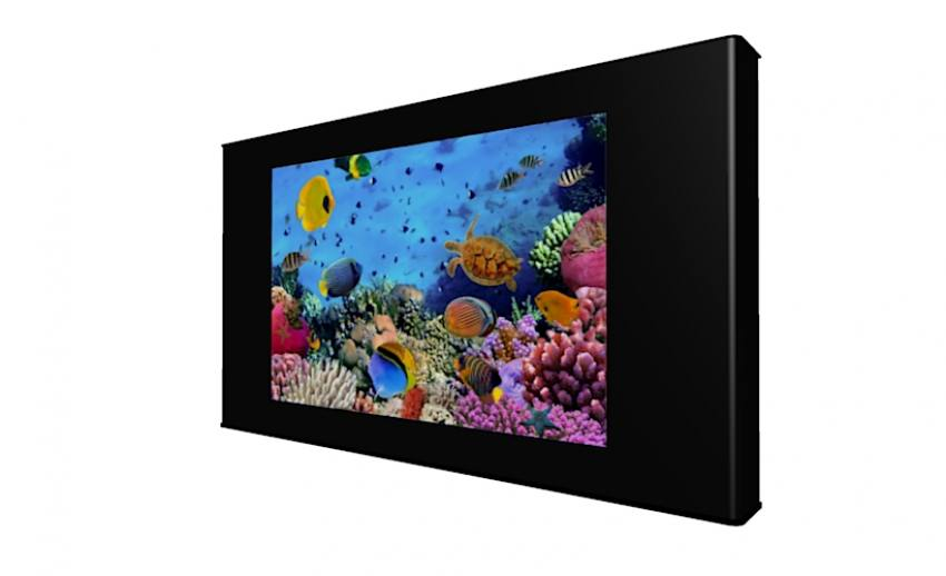 42inch Led Digital Aquariums Amp Virtual Fish Tanks Wall