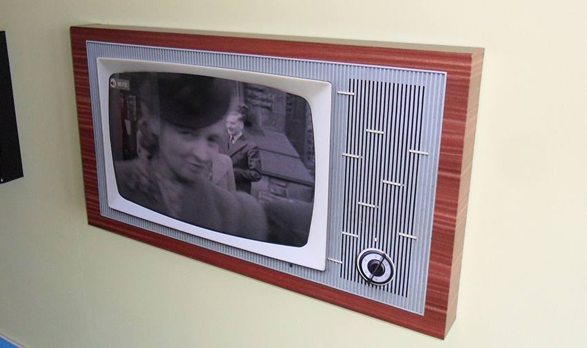 retro tv surround 1950s 60s 70s 80s tv surround for dementia