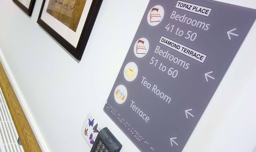 Care Home Signage Image