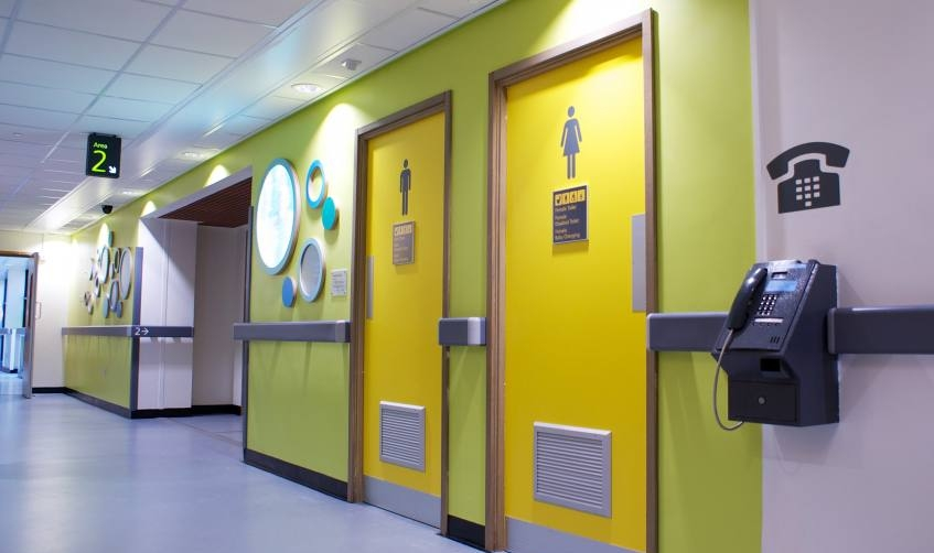 Nhs Wayfinding Amp Directional Signage Hospital Dementia