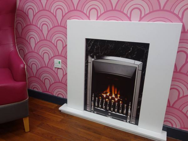 False Fireplace Image